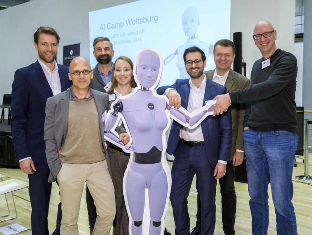 Referenten und Moderatoren des AI Camps Wolfsburg 2019
